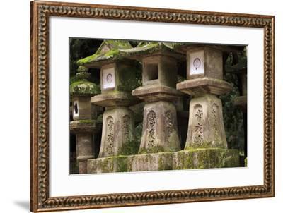 Kasuga-Taisha Shrine-Paul Dymond-Framed Photographic Print