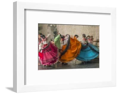 Mexico, Oaxaca, Mexican Folk Dance-Rob Tilley-Framed Photographic Print
