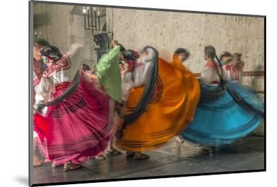 Mexico, Oaxaca, Mexican Folk Dance-Rob Tilley-Mounted Photographic Print