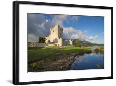 Ross Castle on Lough Leane Near Killarney, County Kerry, Ireland-Brian Jannsen-Framed Photographic Print