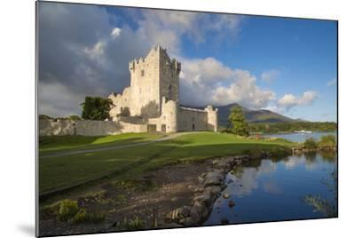 Ross Castle on Lough Leane Near Killarney, County Kerry, Ireland-Brian Jannsen-Mounted Photographic Print