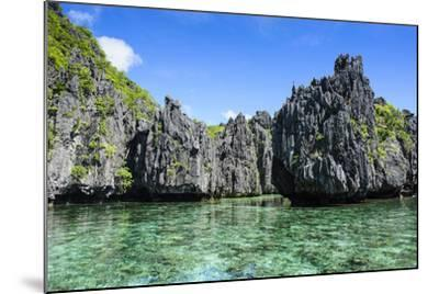 Clear Water in the Bacuit Archipelago, Palawan, Philippines-Michael Runkel-Mounted Photographic Print