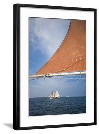 Massachusetts, Cape Ann, Annual Schooner Festival, Schooner Rigging-Walter Bibikow-Framed Photographic Print