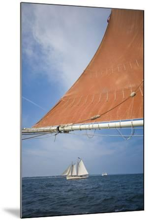 Massachusetts, Cape Ann, Annual Schooner Festival, Schooner Rigging-Walter Bibikow-Mounted Photographic Print