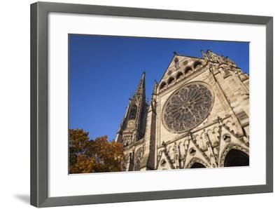 Germany, Rhineland-Pfalz, Speyer, Exterior of the Memorial Church-Walter Bibikow-Framed Photographic Print