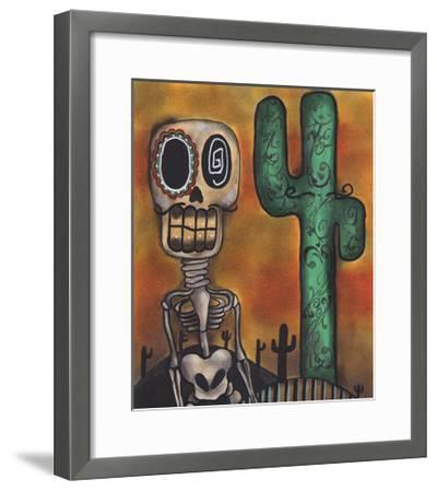 Desert-Abril Andrade-Framed Premium Giclee Print