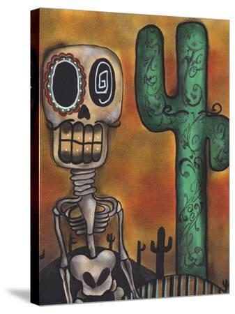 Desert-Abril Andrade-Stretched Canvas Print