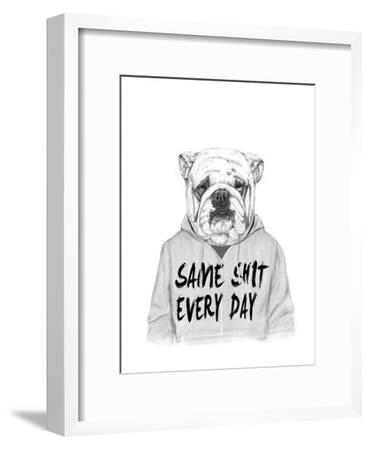 Same Shit Every Day-Balazs Solti-Framed Giclee Print
