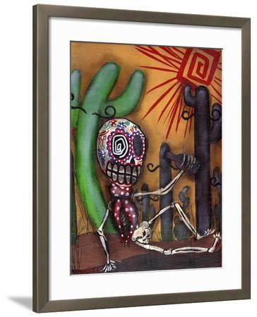 Siesta-Abril Andrade-Framed Premium Giclee Print