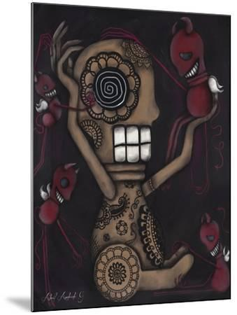 My Conscience-Abril Andrade-Mounted Giclee Print