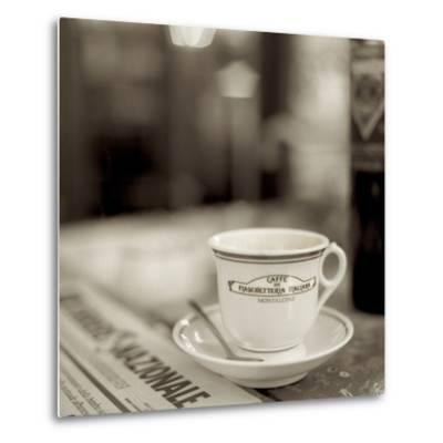 Tuscany Caffe II-Alan Blaustein-Metal Print