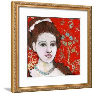 Engraved Love-Blenda Tyvoll-Framed Giclee Print
