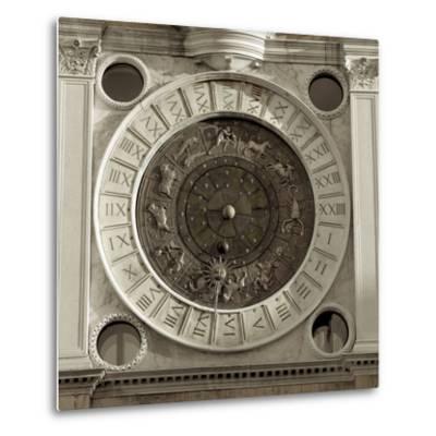 Il Grande Orologio IV-Alan Blaustein-Metal Print