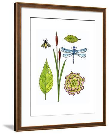 Lakeside-Blenda Tyvoll-Framed Giclee Print
