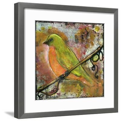 Peridot Bird-Blenda Tyvoll-Framed Giclee Print