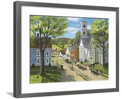 After Church-Bob Fair-Framed Giclee Print