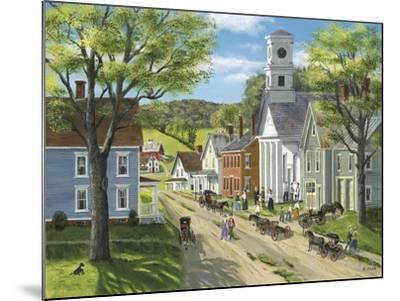 After Church-Bob Fair-Mounted Giclee Print