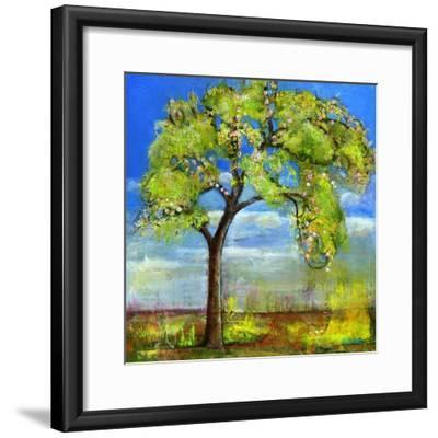 Spring Tree-Blenda Tyvoll-Framed Giclee Print