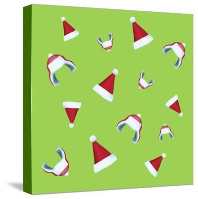 Xmas Hat Rap Mix-Ali Lynne-Stretched Canvas Print