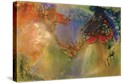 Fluid Movement-Aleta Pippin-Stretched Canvas Print