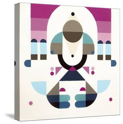 Rainbow Island-Antony Squizzato-Stretched Canvas Print
