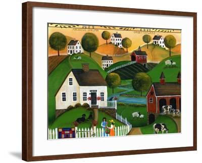 May Your Home Be Blessed with Many Friends Lang 2018-Cheryl Bartley-Framed Giclee Print