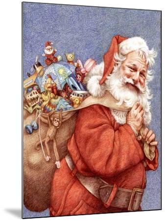 Finished Santa-Anne Yvonne Gilbert-Mounted Giclee Print