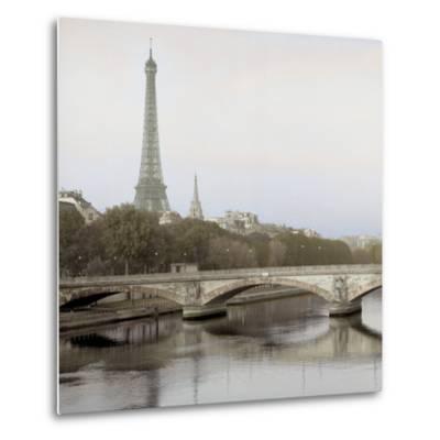 Tour Eiffel 3-Alan Blaustein-Metal Print