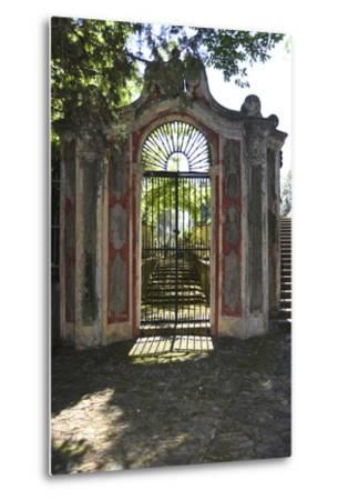 Italian Gate-Chris Bliss-Metal Print