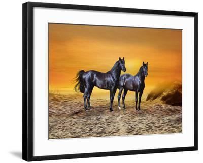 Dream Horses 016-Bob Langrish-Framed Photographic Print