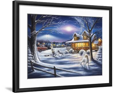 Welcome Home-Chuck Black-Framed Giclee Print