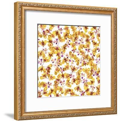 Autumn Pattern-Cayena Blanca-Framed Giclee Print
