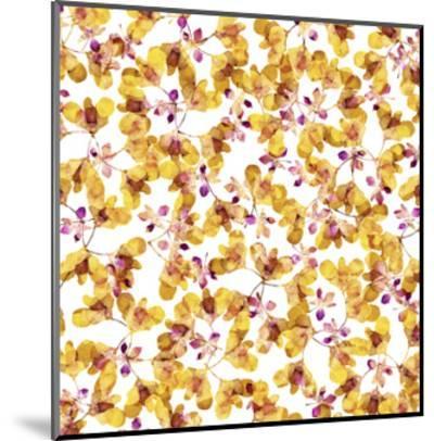Autumn Pattern-Cayena Blanca-Mounted Giclee Print