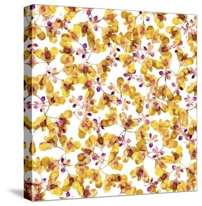 Autumn Pattern-Cayena Blanca-Stretched Canvas Print
