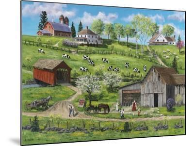 Buttermilk Farm-Bob Fair-Mounted Giclee Print