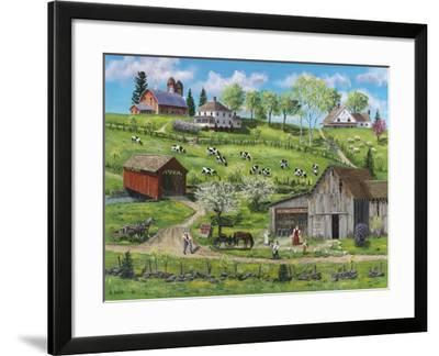 Buttermilk Farm-Bob Fair-Framed Giclee Print