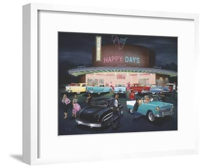 Happy Days-Geno Peoples-Framed Giclee Print