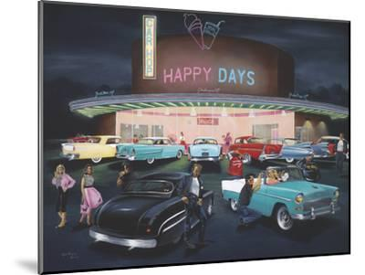 Happy Days-Geno Peoples-Mounted Giclee Print