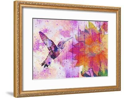 Hummingbird XVII-Fernando Palma-Framed Giclee Print
