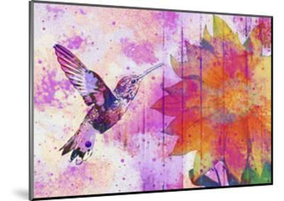 Hummingbird XVII-Fernando Palma-Mounted Giclee Print