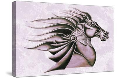 Horse Elegance XV-Fernando Palma-Stretched Canvas Print