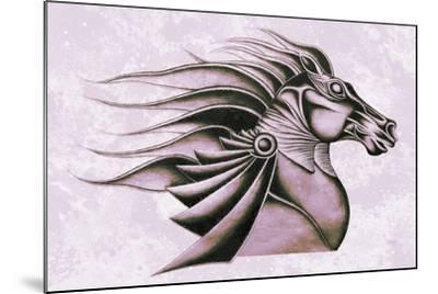 Horse Elegance XV-Fernando Palma-Mounted Giclee Print