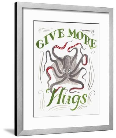 Give More Hugs-CJ Hughes-Framed Giclee Print