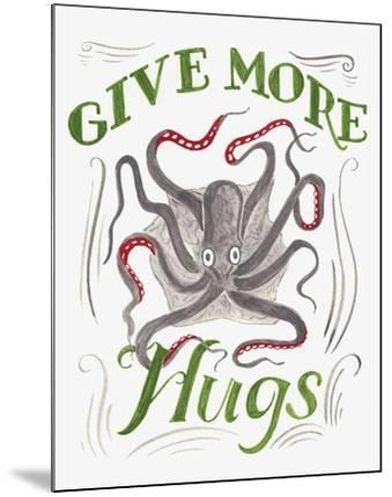 Give More Hugs-CJ Hughes-Mounted Giclee Print