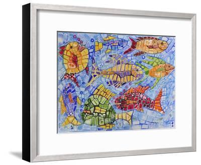My Aquarium-Charlsie Kelly-Framed Giclee Print