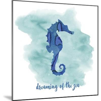 Seahorse-Erin Clark-Mounted Giclee Print