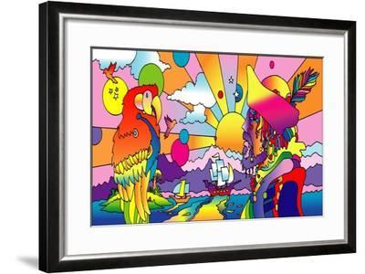 Pirates-Howie Green-Framed Giclee Print
