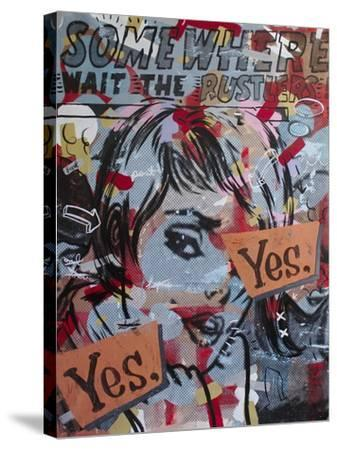 Yes Yes-Dan Monteavaro-Stretched Canvas Print