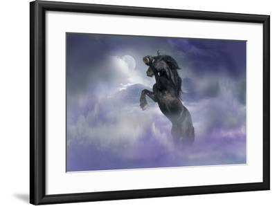 Dream Horses 056-Bob Langrish-Framed Photographic Print