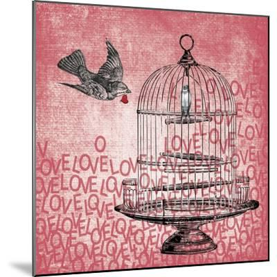 Love Birds-Erin Clark-Mounted Giclee Print